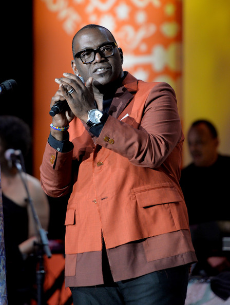 Randy Jackson speaks onstage during the 21st annual Race to Erase MS at the Hyatt Regency Century Plaza on May 2, 2014 in Century City, California
