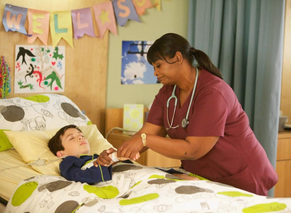 "Octavia Spencer in Fox's ""Red Band Society"""