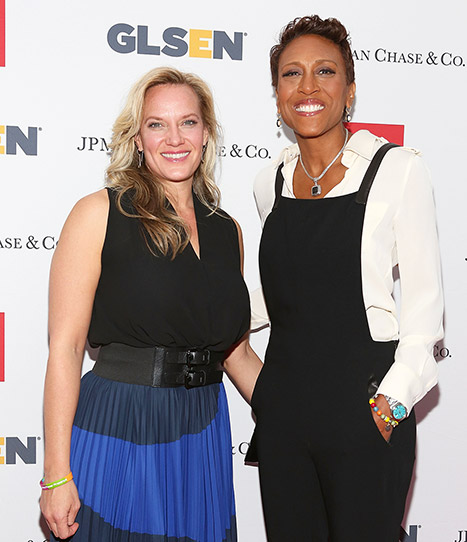 Robin Roberts and her longtime girlfriend Amber Laign stepped out together in New York City