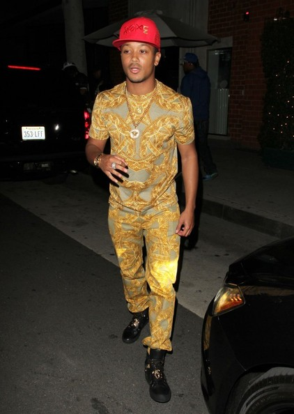 Romeo outside of Mr Chow restaurant on April 30, 2014 in Beverly Hills, California