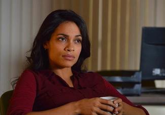 "Rosario Dawson as Nicole Dunlop in ""The Captives"""
