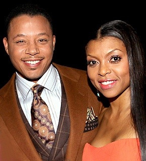 terrence howard & taraji p henson