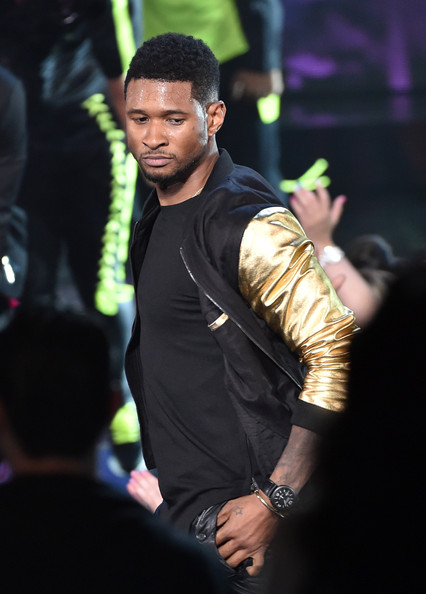 Usher performs onstage during the 2014 iHeartRadio Music Awards held at The Shrine Auditorium on May 1, 2014 in Los Angeles, California
