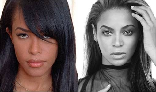Aaliyah and Beyonce