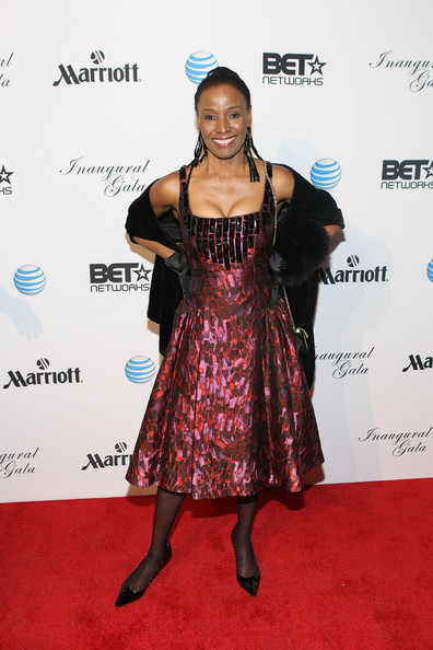 B. Smith attends the Inaugural Ball hosted by BET Networks at Smithsonian American Art Museum & National Portrait Gallery on January 21, 2013 in Washington, DC