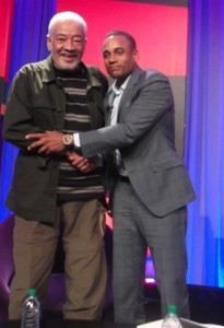 Bill Withers and Hill Harper: Photo Credit, Ricky Richardson