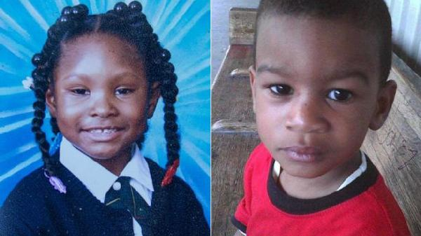 Mikayla Capers, 7, and Prince Joshua Avitto, 6 (Died)