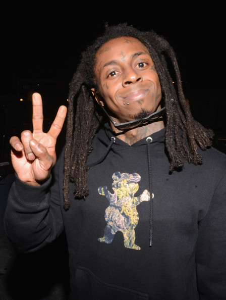 Rapper Lil Wayne attends the 2014 mtvU Woodie Awards and Festival on March 13, 2014 in Austin, Texas