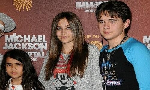 Michael Jackson's kids (Blanket, Paris and Prince)