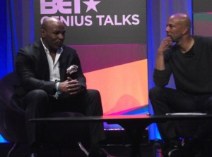 Mike Tyson and Common: Photo Credit, Ricky Richardson