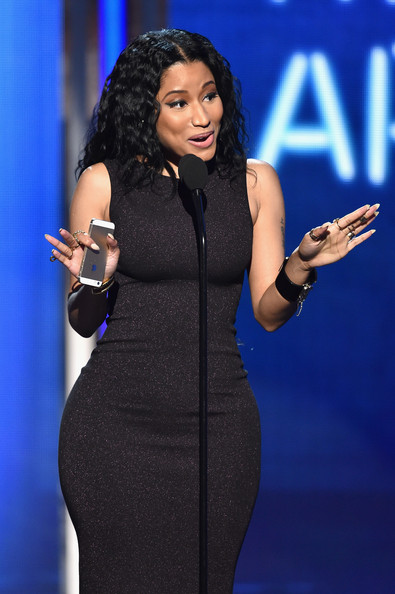 Singer/rapper Nicki Minaj accepts Best Female Hip-Hop Artist onstage during the BET AWARDS '14 at Nokia Theatre L.A. LIVE on June 29, 2014 in Los Angeles, California