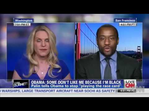 Obama accused of playing the race card