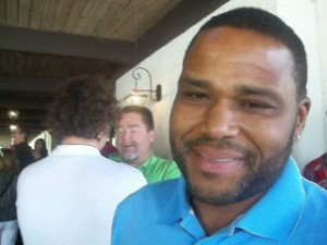 """Anthony Anderson (Transformers) on the green carpet of SAG's """"Actors Fore Actors"""" Celebrity Golf Tournament fundraiser. (Photo credit: Eunice Moseley)"""
