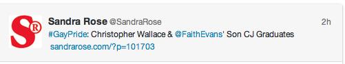 Sandra Rose tweet