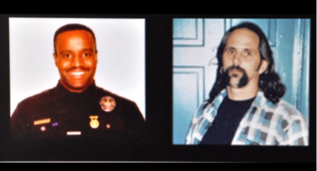 LAPD Officer Kevin Gaines - LAPD Detective Frank Lyga