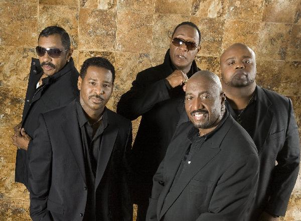 (L to R) Ron Tyson, Terry Weeks, Joe Herndon, Otis Williams, & Bruce Williamson