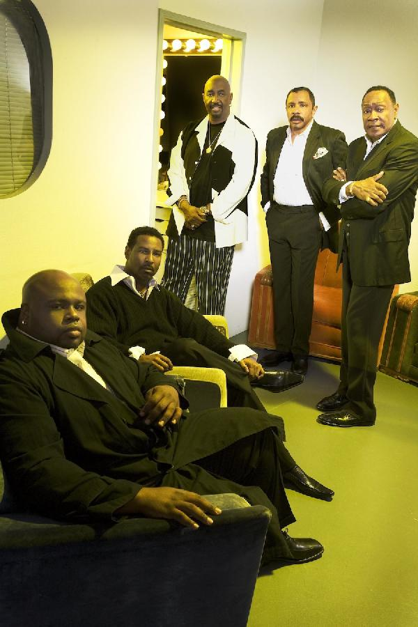 (L to R) Bruce Williamson, Terry Weeks, Otis Williams, Ron Tyson & Joe Herndon.