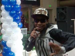 "Rapper Jessi Jone winner of ULMII ""Best Vocal"" artist recently in Baltimore. (Photo Credit: Eunice Moseley)"