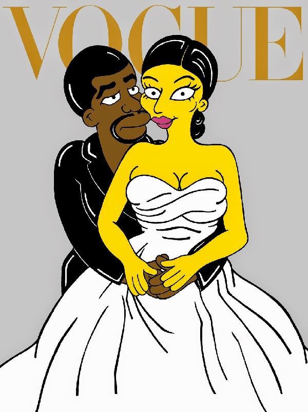 Vogue cover, Kimye