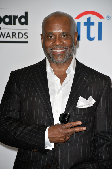 Producer L.A. Reid poses in the press room during the 2014 Billboard Music Awards at the MGM Grand Garden Arena on May 18, 2014 in Las Vegas