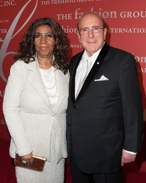 Singer Aretha Franklin and music producer Clive Davis attends the 30th Annual Night Of Stars presented by The Fashion Group International>> at Cipriani Wall Street on October 22, 2013 in New York City