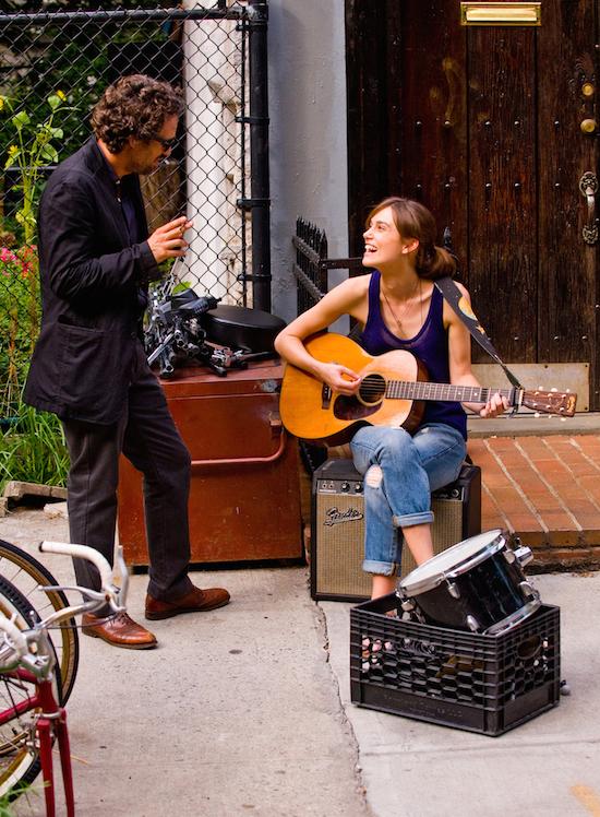 "Mark Ruffalo and Kiera Knightly in ""Begin Again"""