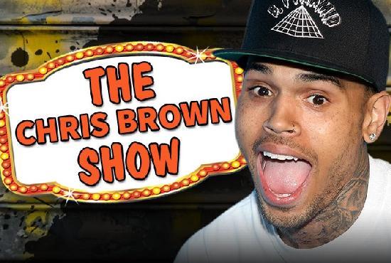 chris brown show