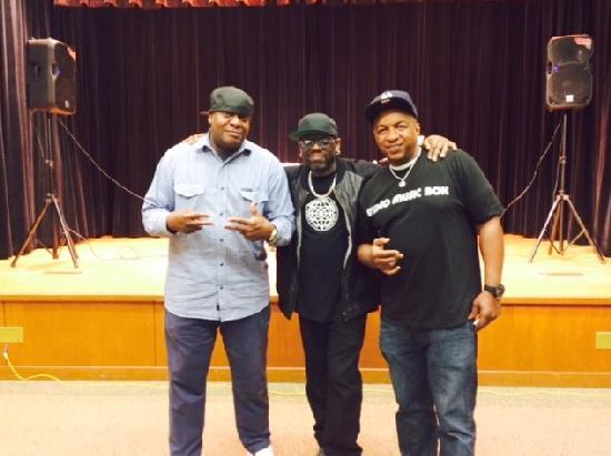 DJ Chuck Chillout,  Grandmixer DXT and Ralph 'Uncle Ralph' McDaniels