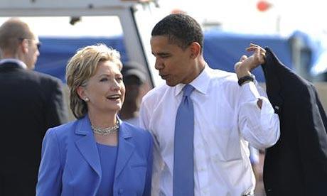 clinton obama 2008
