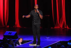 Dave Chappelle performs at Radio City Music Hall on Wednesday, June 18, 2014, in New York City