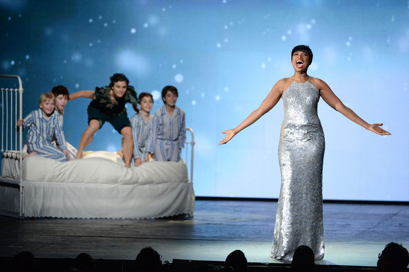 Jennifer Hudson performs onstage during the 68th Annual Tony Awards at Radio City Music Hall on June 8, 2014 in New York City