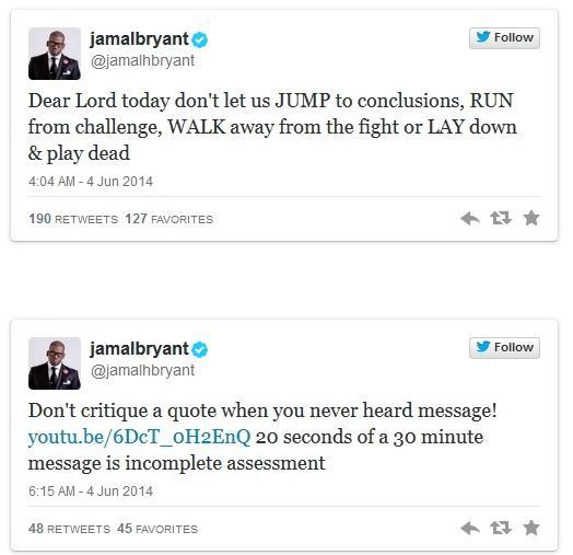 jamal bryant tweets