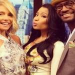 Kelly Ripa Entertains Nicki Minaj and Taye Diggs Crush (Watch)