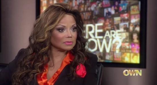 latoya jackson (on where are they now)