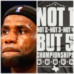 LeBron James Target of Spurs Fans Ribbing About Winning Championships (Watch)
