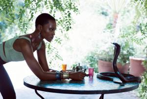 Lupita Nyong'o in Yossi Harari