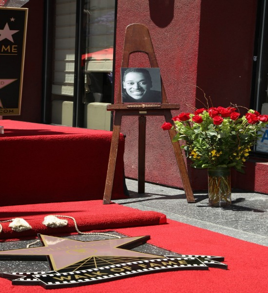 luther vandross, hollywood walk of fame,