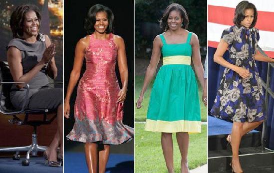 michelle obama fashionable