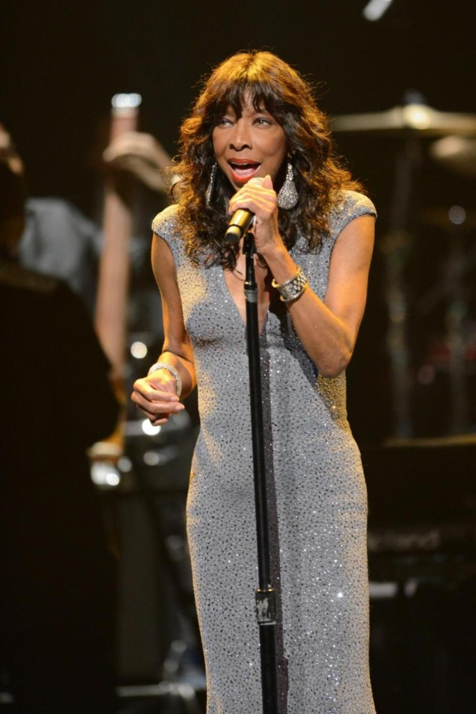 Natalie Cole performs at the Apollo Theater Spring Gala and 80th Anniversary Celebration at the Apollo Theater on Monday, June, 10, 2014 in New York City