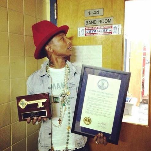 pharrell with awards