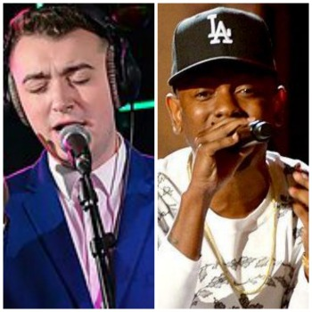 sam smith, kendrick lamar,