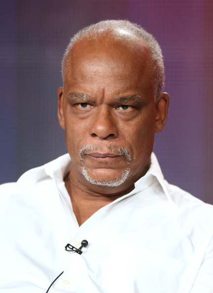 """Producer/Writer/Director Stanley Nelson looks on during the ' American Experience/""""Freedom Summer"""" 'panel discussion at the PBS portion of the 2014 Winter Television Critics Association tour at Langham Hotel on January 21, 2014 in Pasadena, California"""