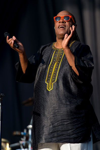 Stevie Wonder (Born Stevland Hardaway Morris) performs on Day 2 of the Calling Festival at Clapham Common on June 29, 2014 in London, England