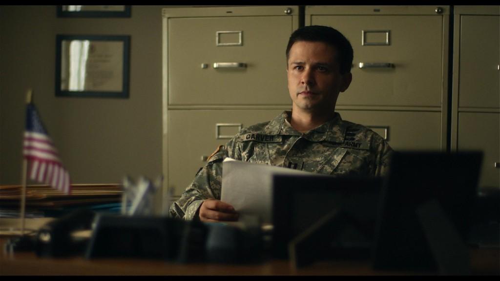 """Freddie Rodriguez as Garver in """"Fort Bliss"""""""