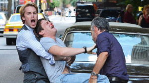 """(L-R) Taylor Kitsch, Jonathan Groff in HBO's """"The Normal Heart"""""""