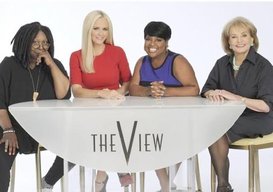 the view cast - whoopi jenny sherri barbara