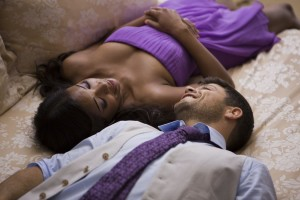 Jeremy (Jerry Ferrara) and Kristen (Gabrielle Union) in Screen Gems' THINK LIKE A MAN TOO.