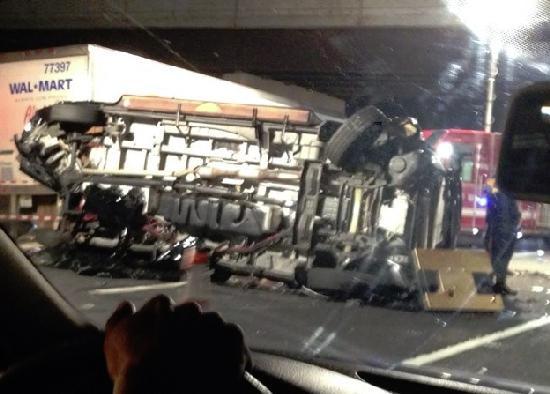 tracy morgan limobus after crash