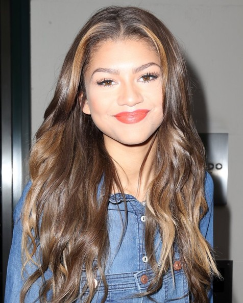 Actress and singer Zendaya Coleman spotted out and about in New York City, New York on May 1, 2014