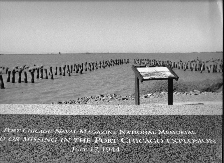 Sailors from Port Chicago 1944 memorialized at national park at the Concord Naval Weapons Station